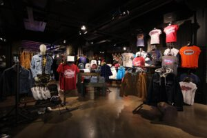 Superdry store inside