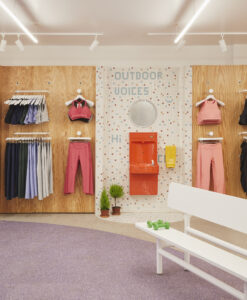 Outdoor voices store