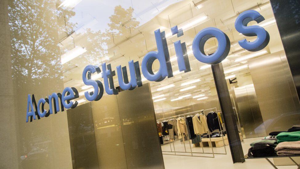Acne Studios store front