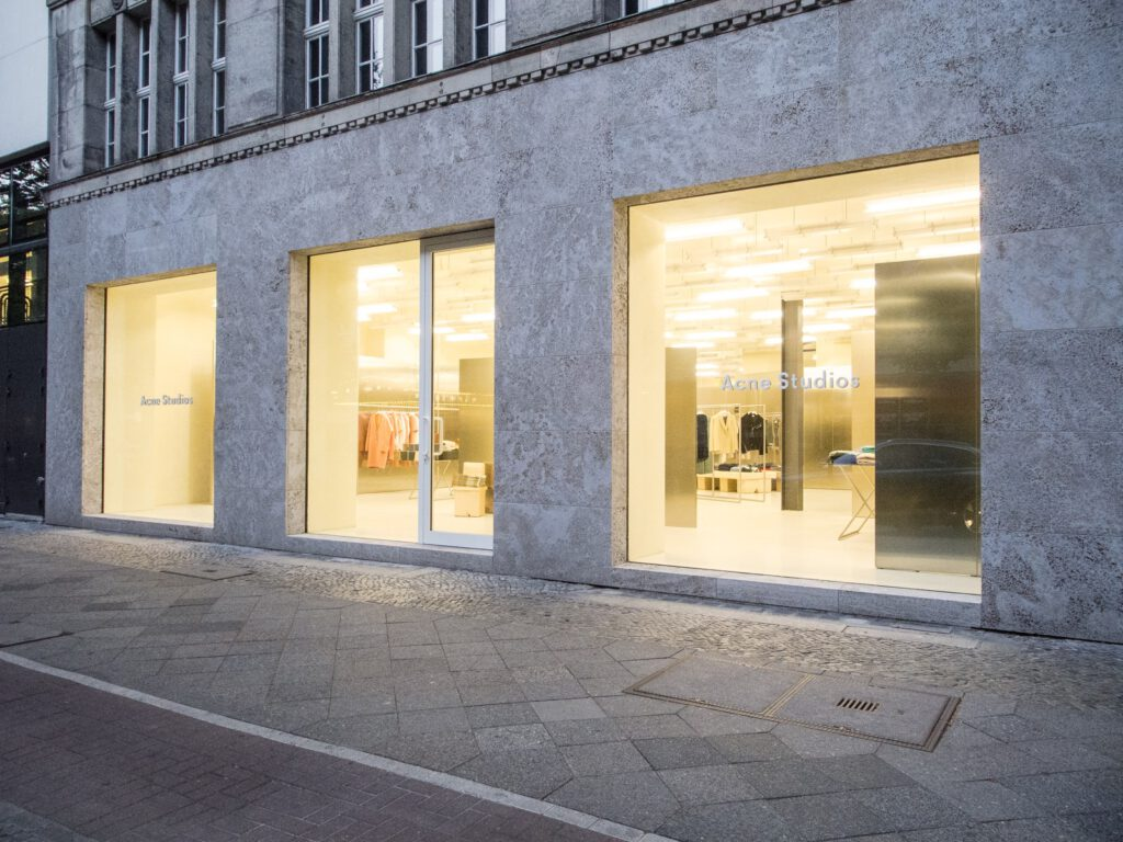 Acne Studios store front