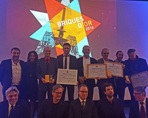 Brique d'Or innovation award