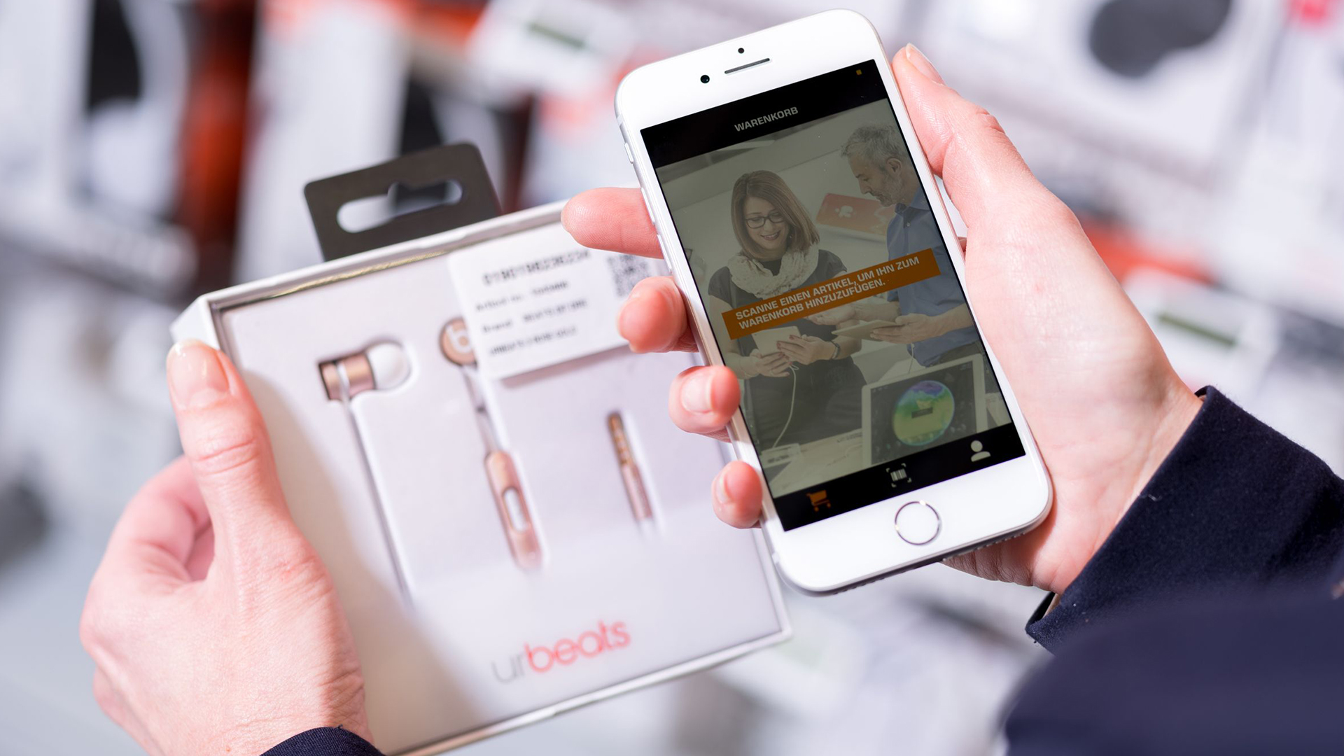 Digital touchpoints in retail