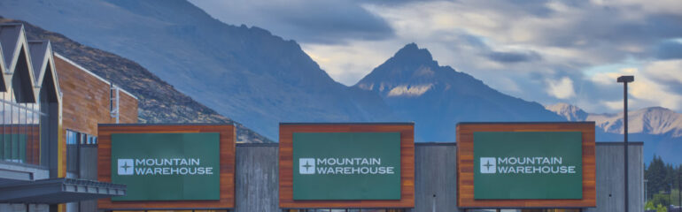 Mountain Warehouse store