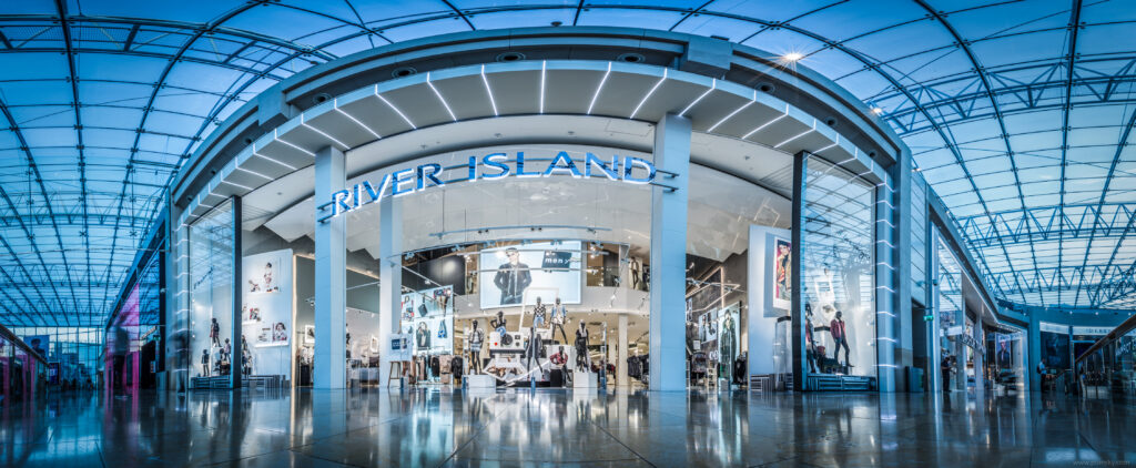 River Island store front