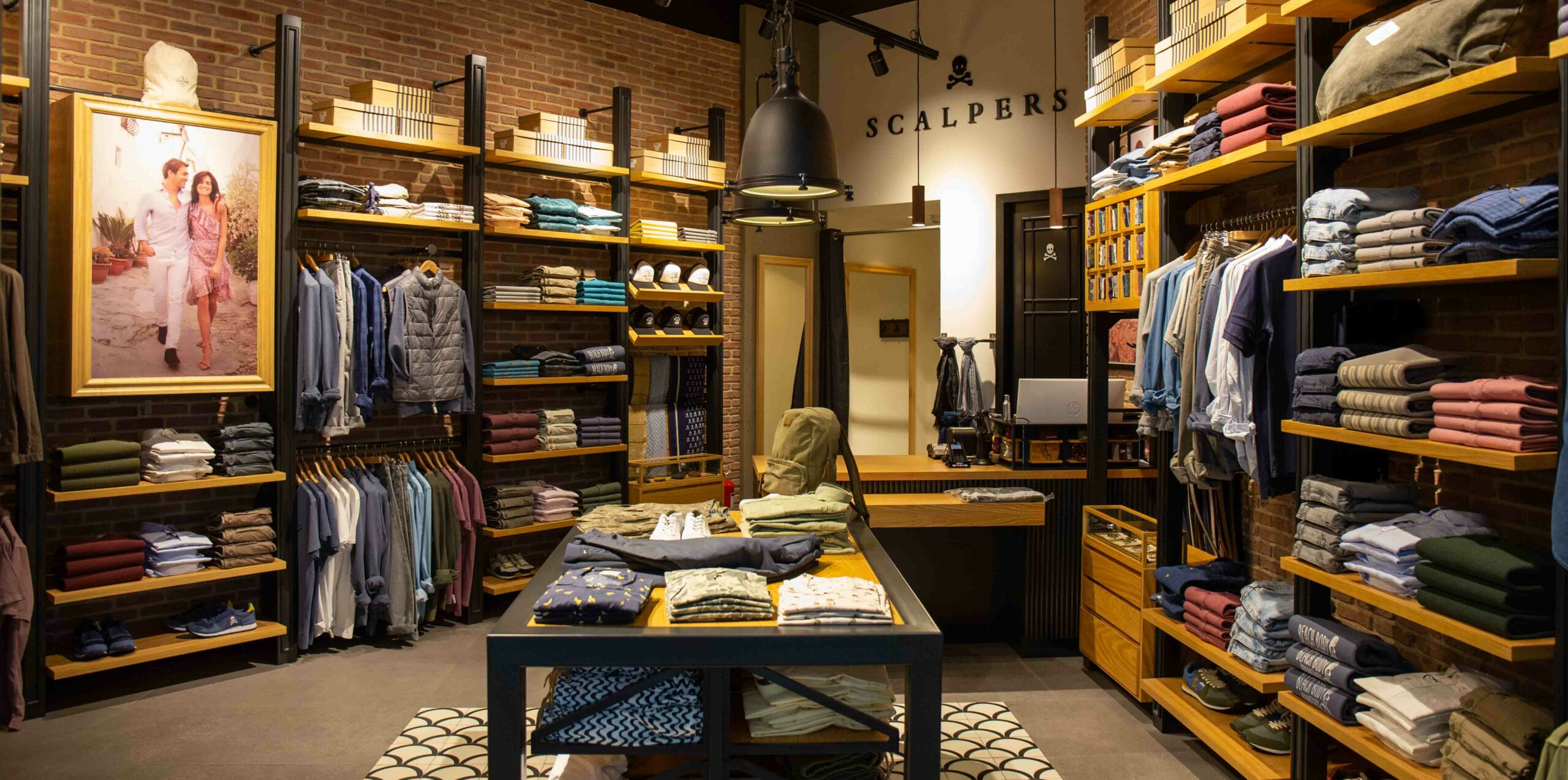 Scalpers store inside