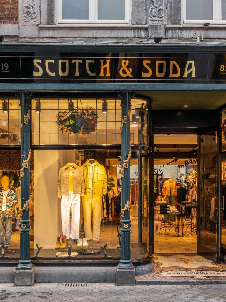 Scotch & Soda store front