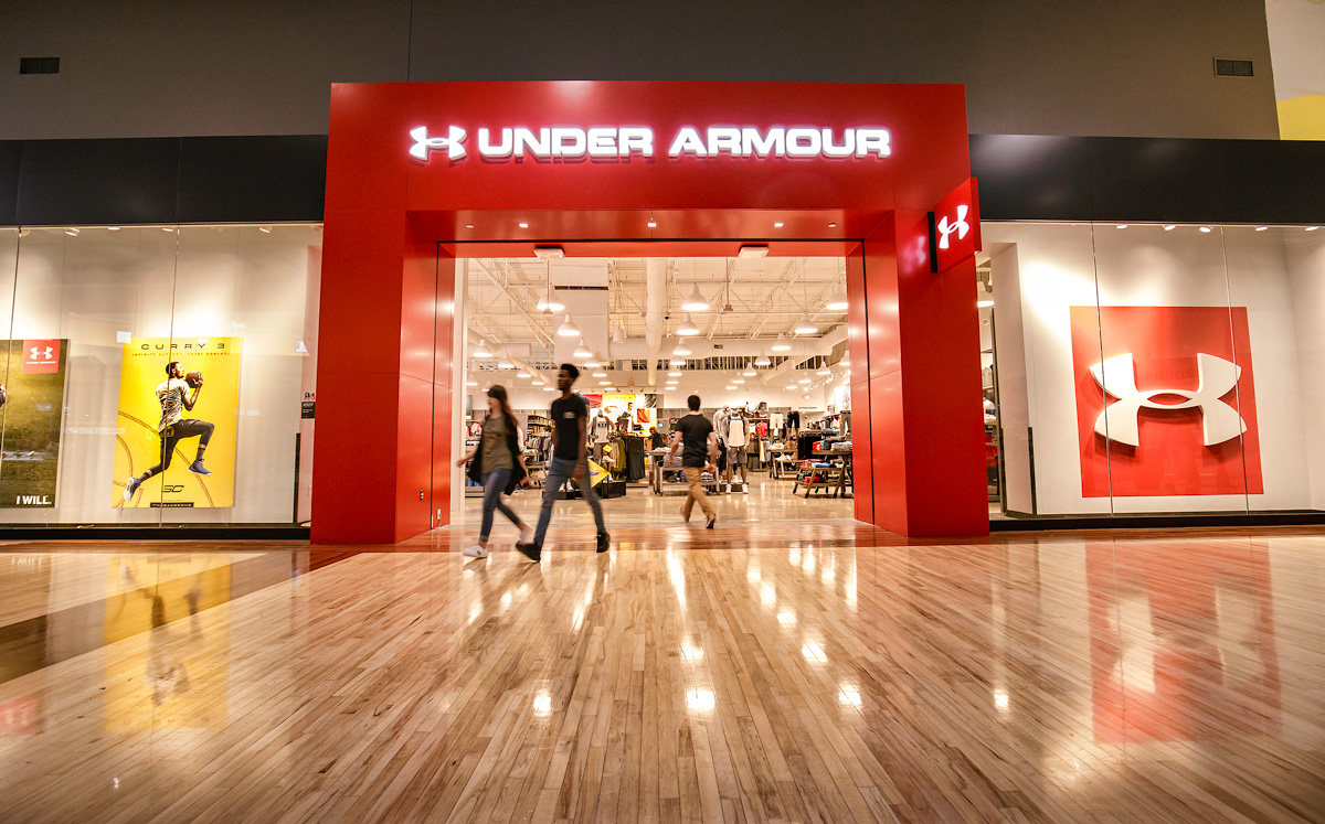 Under Armour store front