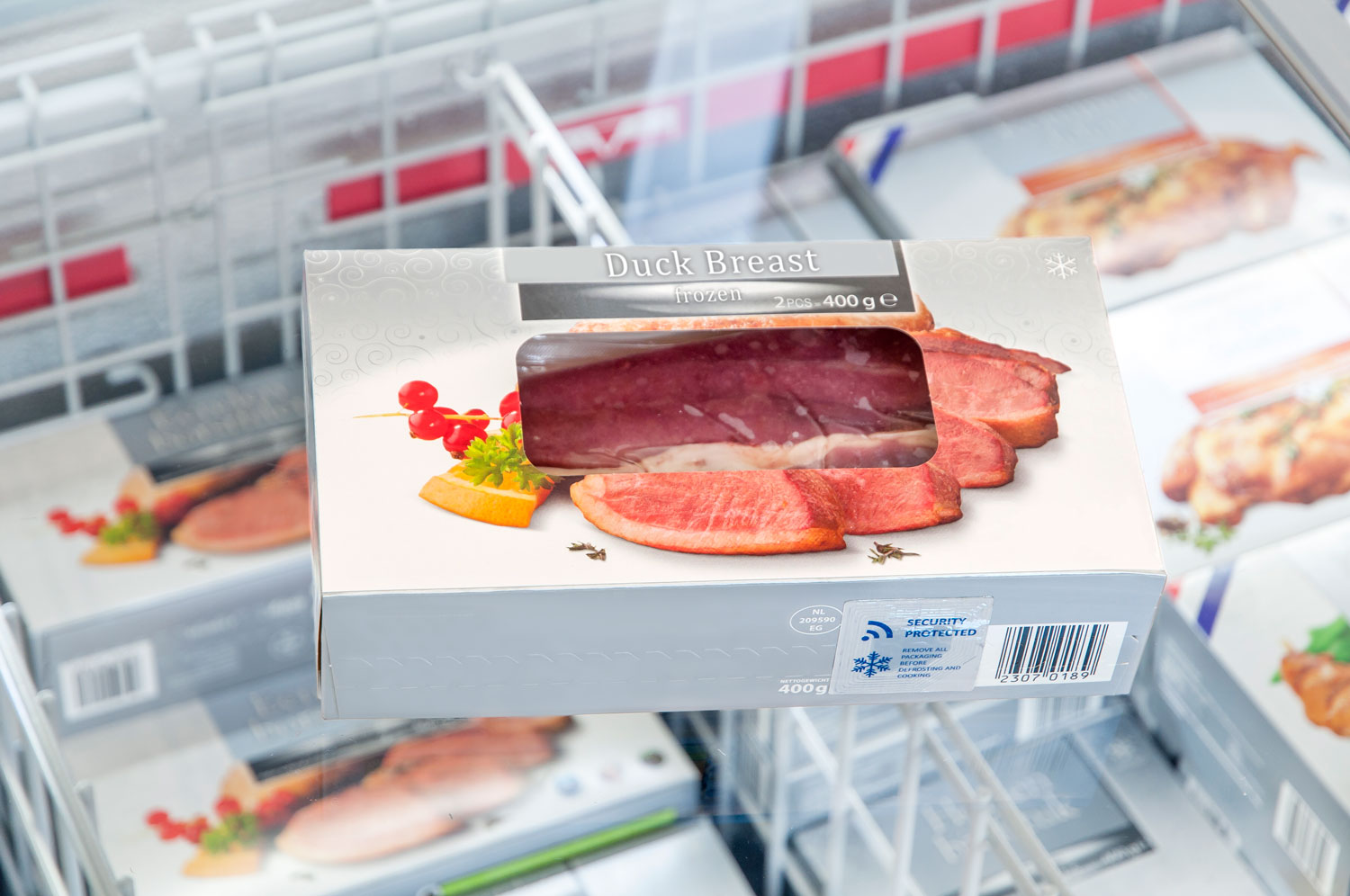 Whitepaper - How to secure chilled and frozen meat products