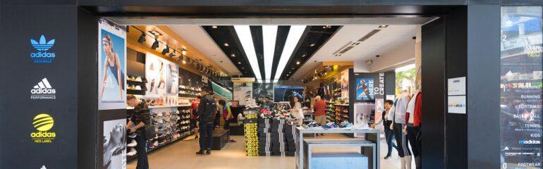 adidas store entrance