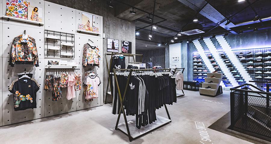 adidas store inside