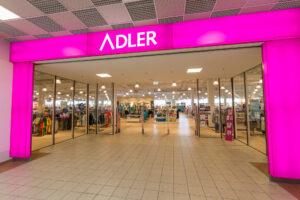 adler store front