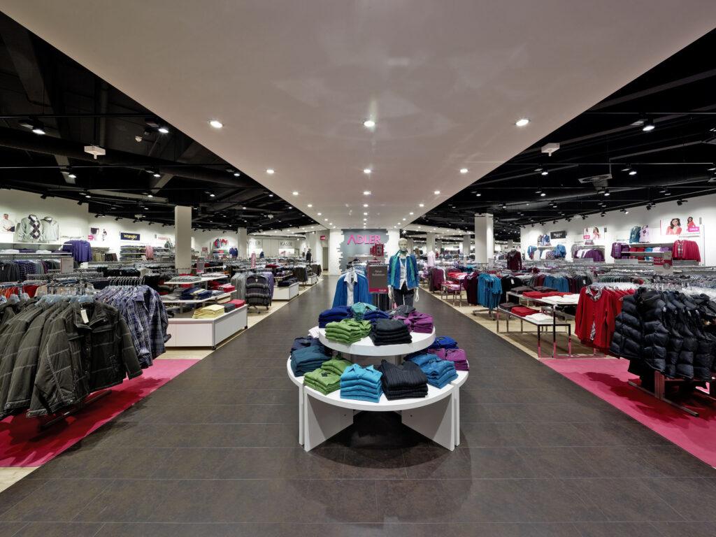 Adler store inside
