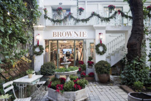 Brownie store front