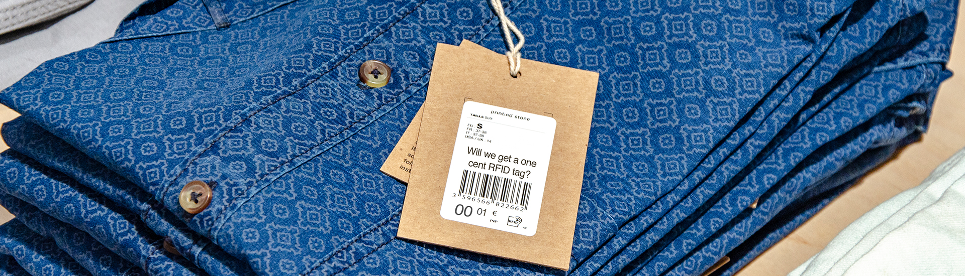 One cent RFID tag
