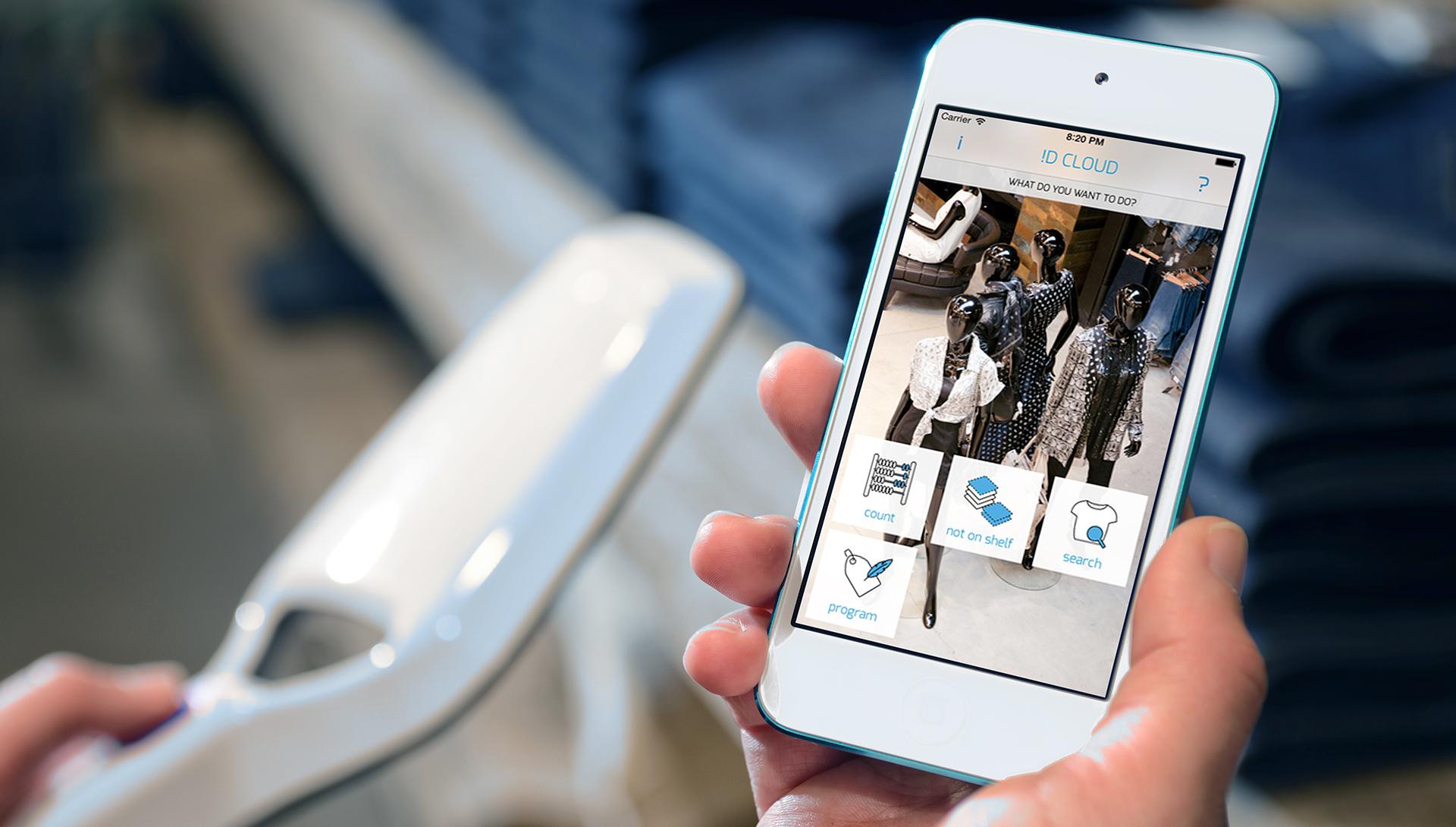 iD Cloud app and handheld