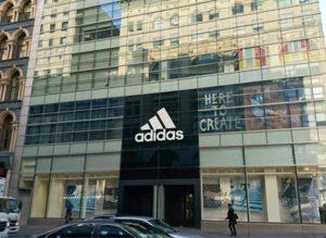 Adidas store New York